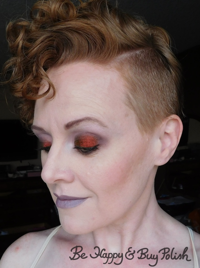 Makeup Order Order Of Makeup Application: Makeup Look With Notoriously Morbid