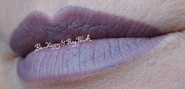 notoriously morbid beyond the pale lip swatch | Be Happy And Buy Polish