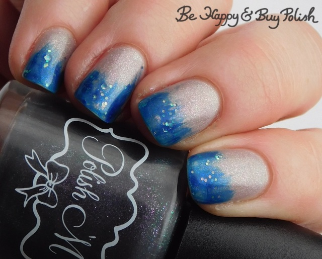 polish 'm bats about you, sinful colors witches please thermal glitter gradient warm state | Be Happy And Buy Polish