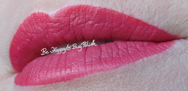 rimmel london show off lip lacquer big bang, revlon color burst matte balm sultry, lip swatch | Be Happy And Buy Polish