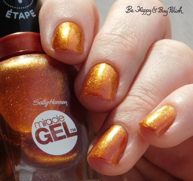 sally hansen sundown socialite orange glow | Be Happy And Buy Polish