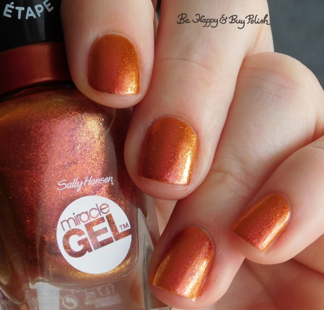 sally hansen sundown socialite pink to orange shift | Be Happy And Buy Polish