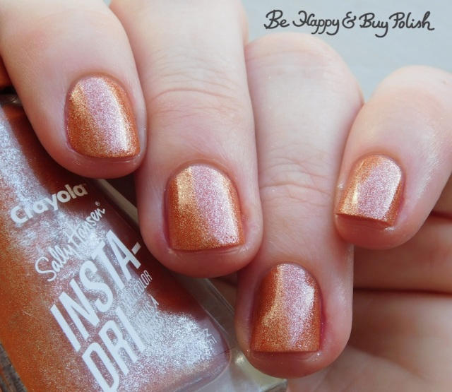 sally hansen x crayola instadri alloy orange | Be Happy And Buy Polish