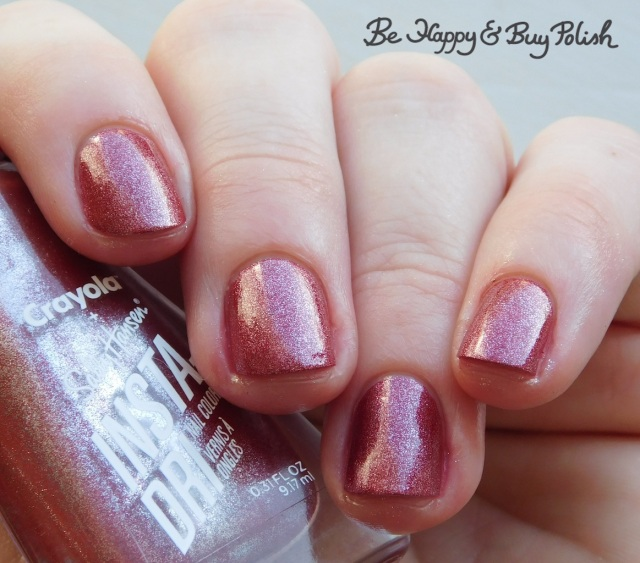 sally hansen x crayola instadri big dip o'ruby | Be Happy And Buy Polish