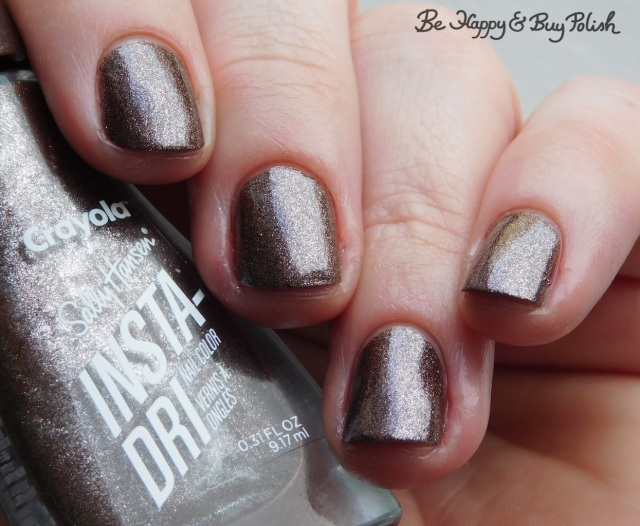 sally hansen x crayola instadri blast off bronze | Be Happy And Buy Polish