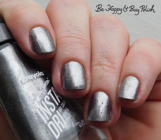 sally hansen x crayola instadri sonic silver | Be Happy And Buy Polish