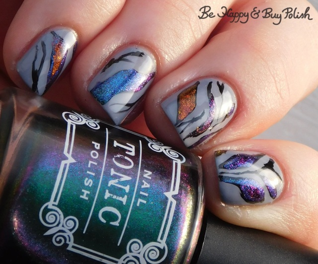 tonic polish mirabilis, kbshimmer space-ial edition, bpolished jellicle queens, l.a. colors blankie magnetic abstract manicure | Be Happy And Buy Polish