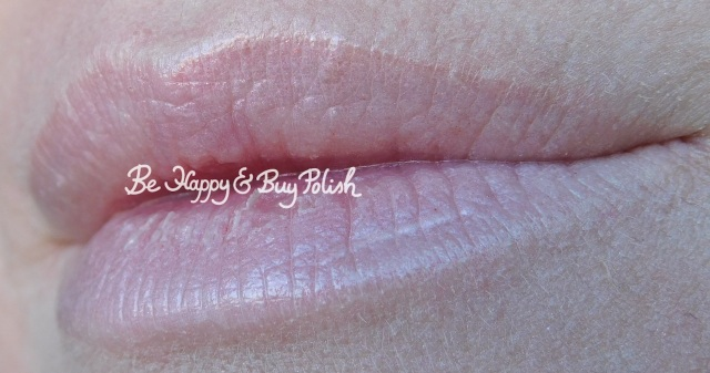 wet n wild coloricon lip gloss cancer lip swatch | Be Happy And Buy Polish