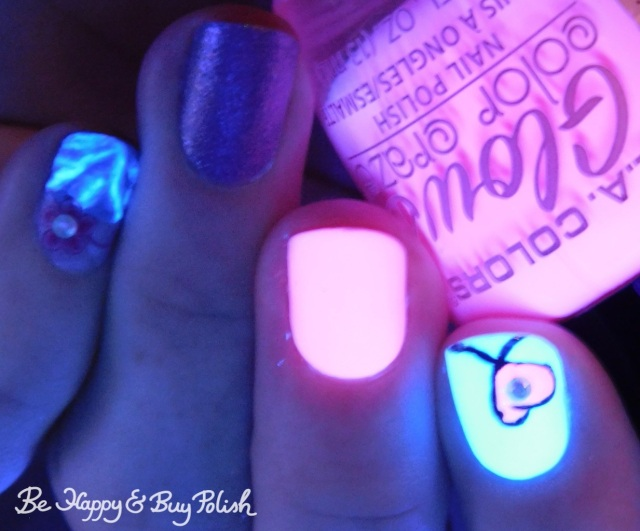 l.a. colors glows gleaming, energy, circuits, polish 'm snowed in, perfect storm | Be Happy And Buy Polish