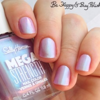 Sally Hansen Mega Strength nail polish swatches + review