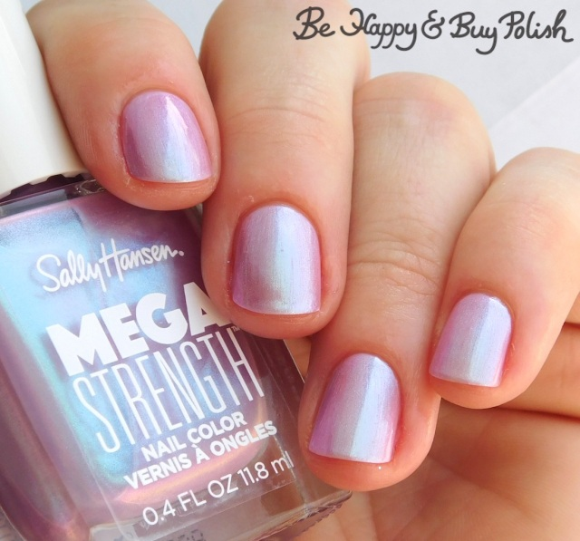 Sally Hansen Mega Strength nail polish Persis-tint | Be Happy And Buy Polish
