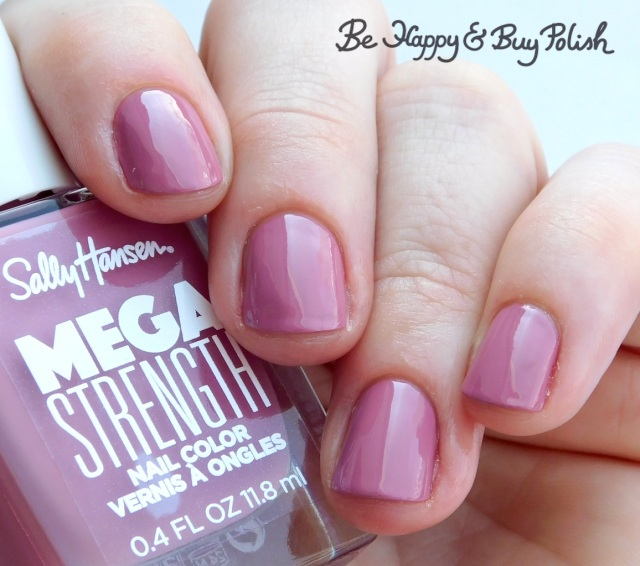 Sally Hansen Mega Strength nail polish She-Ro | Be Happy And Buy Polish