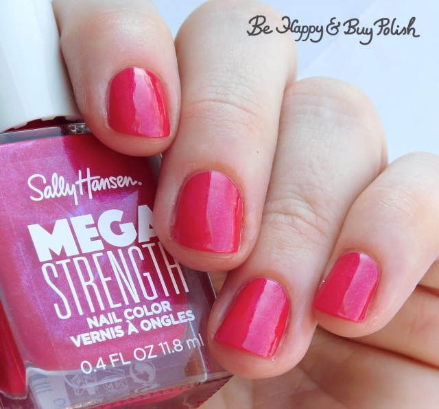 Sally Hansen Mega Strength nail polish Slay All Day | Be Happy And Buy Polish