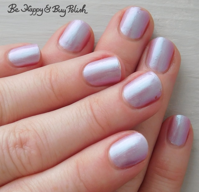 Sally Hansen Mega Strength Persis-tint 5 day wear test manicure | Be Happy And Buy Polish