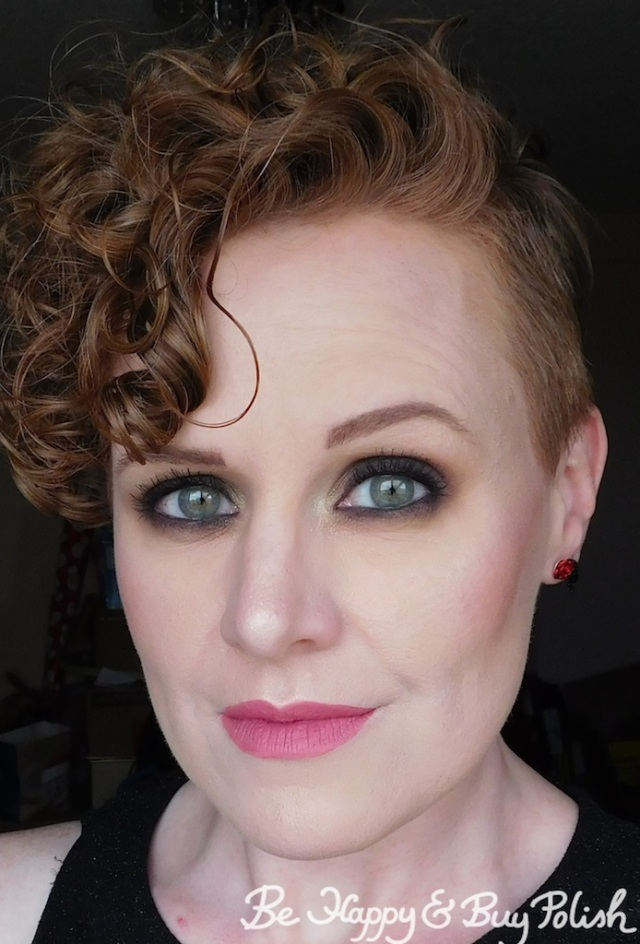 smokey eye dramatic makeup look for redheads with Anastasia Beverly Hills Subculture eyeshadow palette | Be Happy And Buy Polish