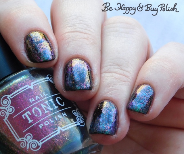 Tonic Polish Better on Top, Mirabilis magnetic squishy manicure   Be Happy And Buy Polish