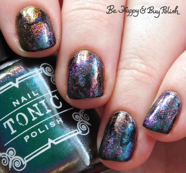 Tonic Polish Mirabilis, Better on Top magnetic squishy manicure   Be Happy And Buy Polish