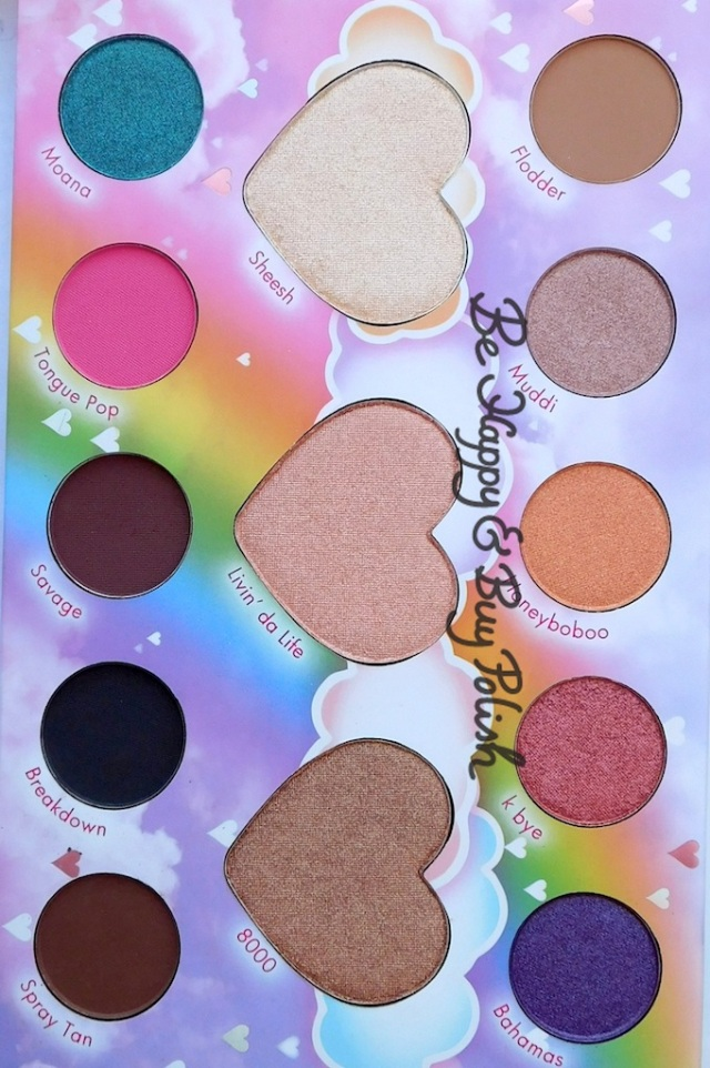 bh Cosmetics Marvycorn by Marvyn Macnificent palette | Be Happy And Buy Polish
