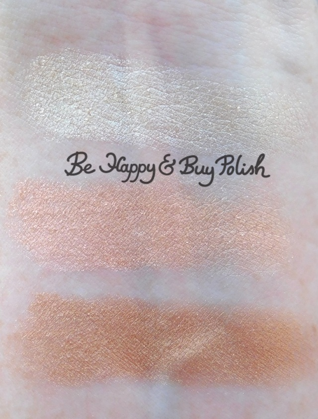 bh Cosmetics Marvycorn by Marvyn Macnificent Sheesh, Livin' da Life, 8000 highlighter swatches | Be Happy And Buy Polish