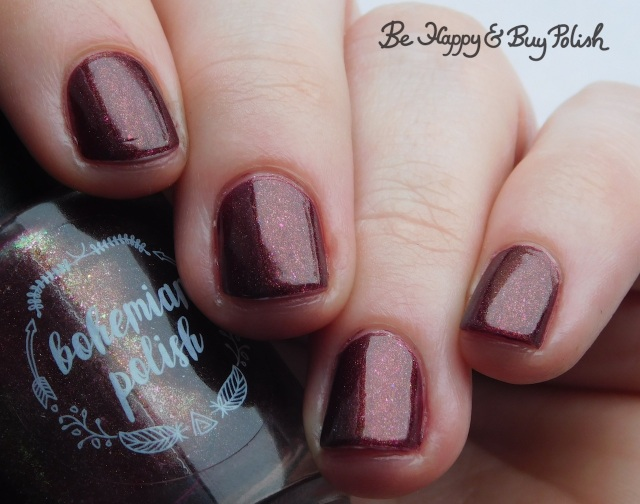 Bohemian Polish Cloak and Dagger nail polish | Be Happy And Buy Polish