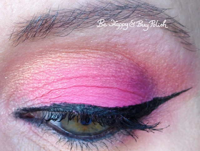 eyeshadow makeup with bh Cosmetics Marvycorn Tongue Pop, Honeyboboo close up | Be Happy And Buy Polish