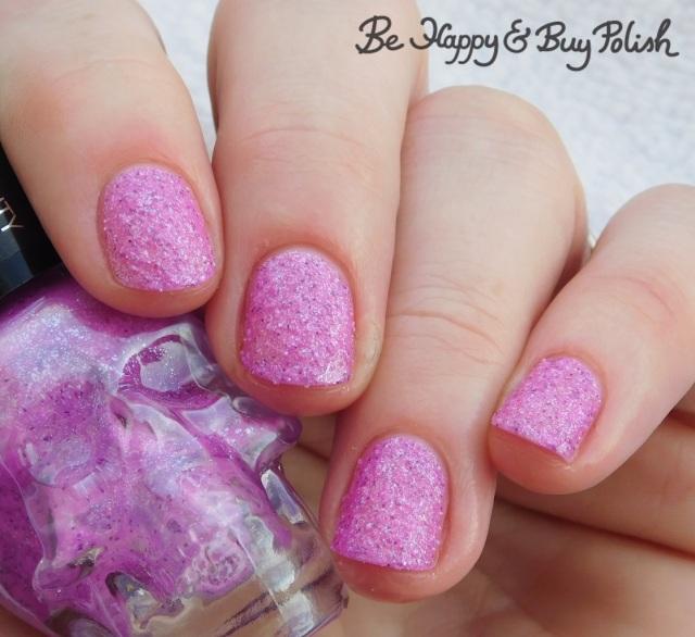 Hot Topic Blackheart Beauty Amethyst Glitter Sand   Be Happy And Buy Polish