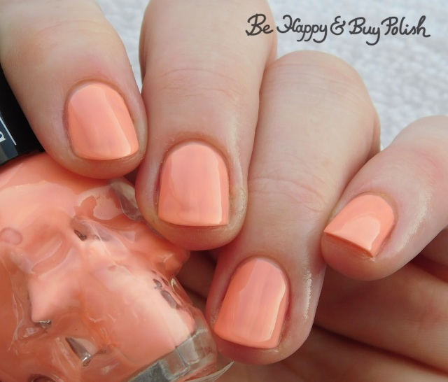 Hot Topic Blackheart Beauty Coral Pastel | Be Happy And Buy Polish