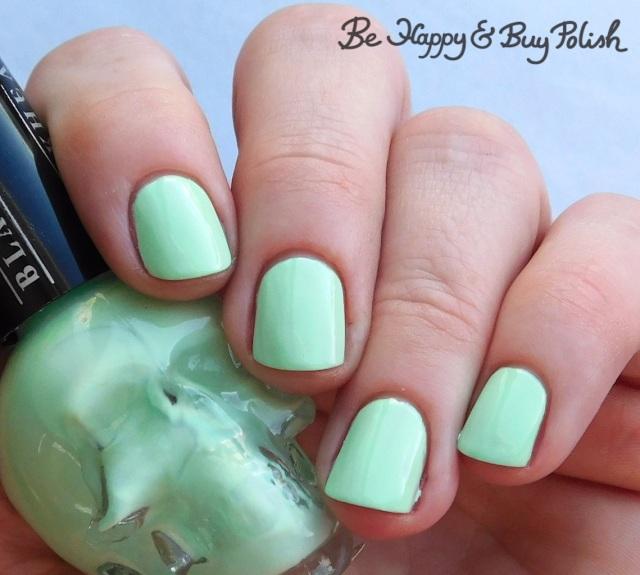 Hot Topic Blackheart Beauty Mint Pastel | Be Happy And Buy Polish