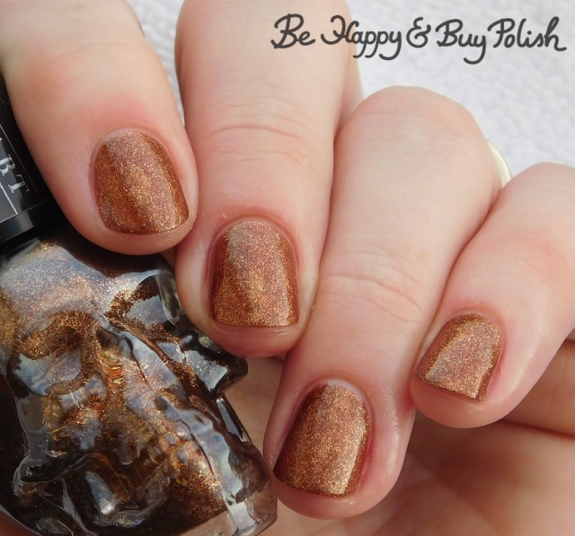 Hot Topic Blackheart Beauty Rose Gold Glitter   Be Happy And Buy Polish