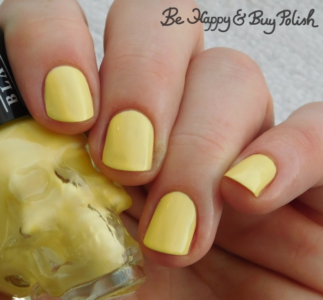Hot Topic Blackheart Beauty Yellow Pastel | Be Happy And Buy Polish