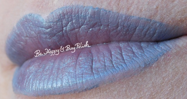 Kat von D Dagger, lottie London Shade lip swatch | Be Happy And Buy Polish