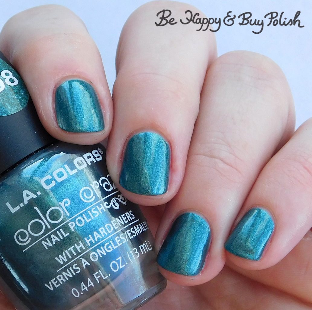 L A  Colors Color Craze nail polishes Bali Bliss, Blankie, Space