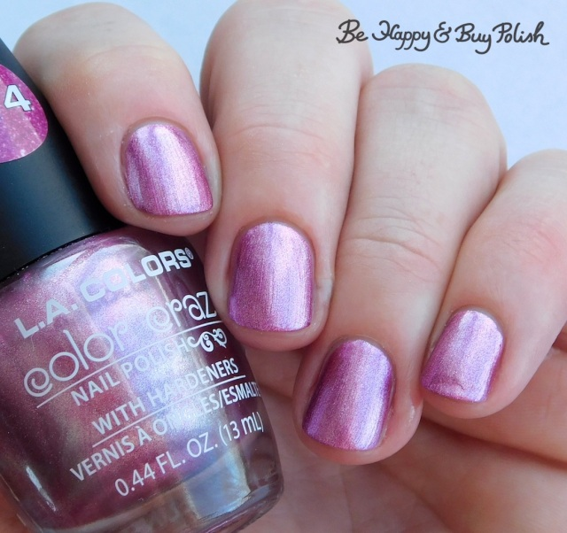 L.A. Colors Color Craze Cosmic Pink | Be Happy And Buy Polish