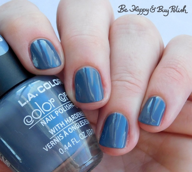 L.A. Colors Color Craze Flannel Grey | Be Happy And Buy Polish