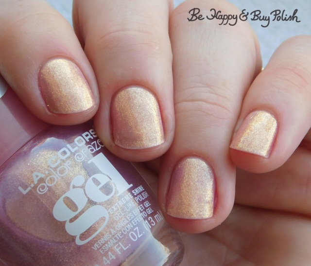 L.A. Colors Color Craze Gel Princess Vibes | Be Happy And Buy Polish