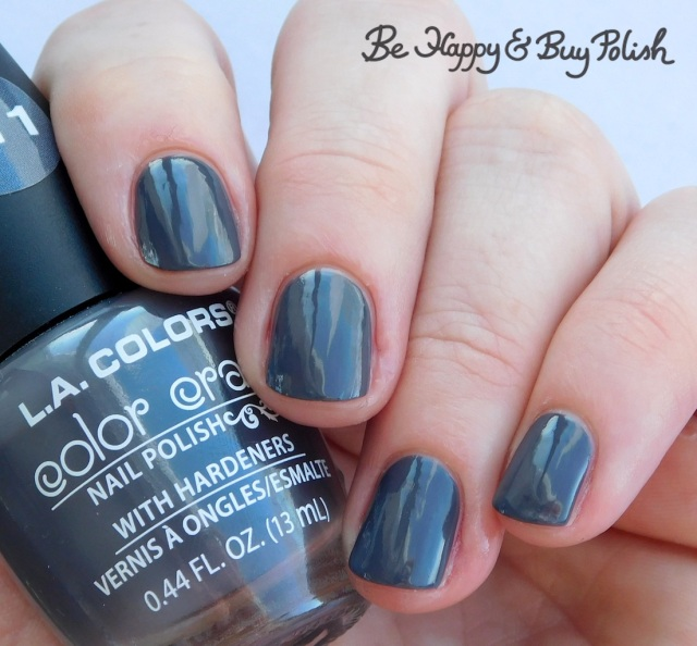 L.A. Colors Color Craze Graphite | Be Happy And Buy Polish