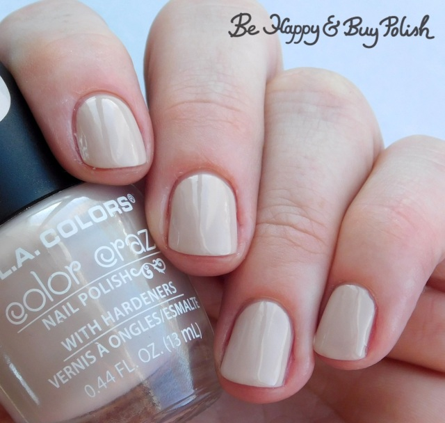 L.A. Colors Color Craze Swiss Coffee | Be Happy And Buy Polish