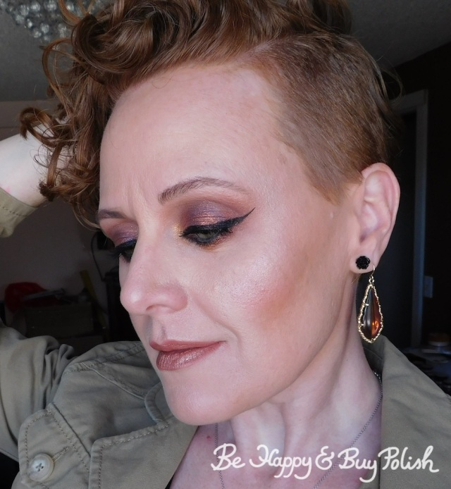 makeup with becca Volcano Goddess palette | Be Happy And Buy Polish