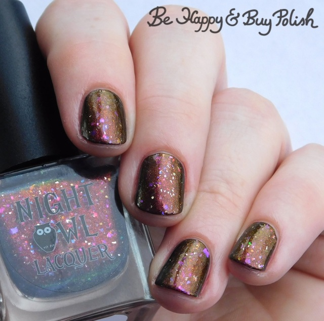 Night Owl Lacquer Love Is Powerful Magic   Be Happy And Buy Polish