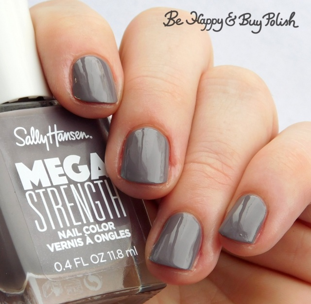 Sally Hansen Mega Strength Here To Slay | Be Happy And Buy Polish