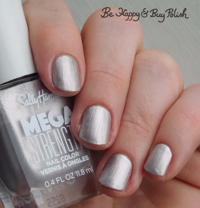 Sally Hansen Mega Strength Keep It 100 | Be Happy And Buy Polish