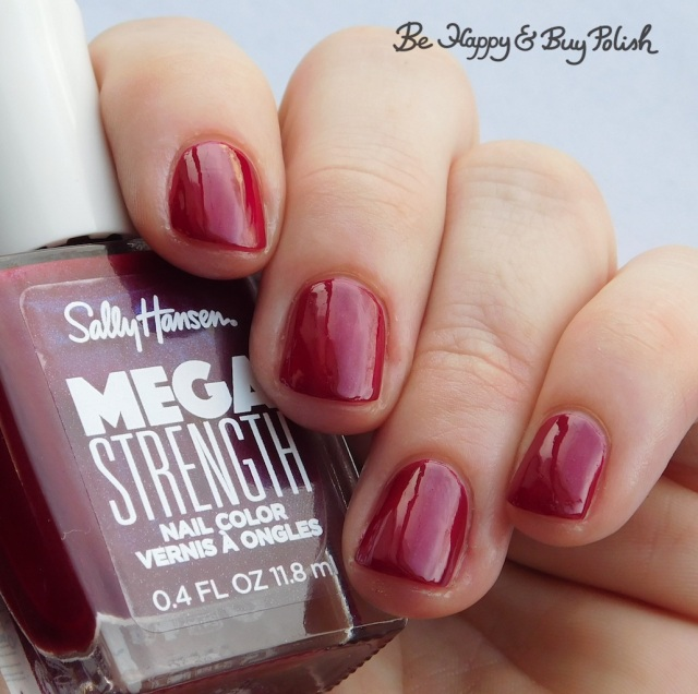 Sally Hansen Mega Strength New Atti-hue | Be Happy And Buy Polish