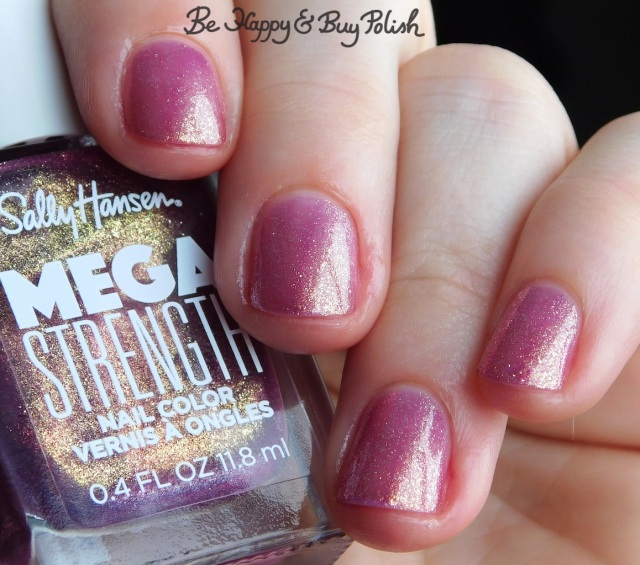 Sally Hansen Mega Strength Small But Mighty close up | Be Happy And Buy Polish