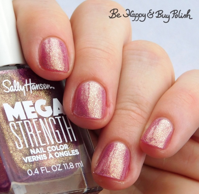 Sally Hansen Mega Strength Small But Mighty | Be Happy And Buy Polish