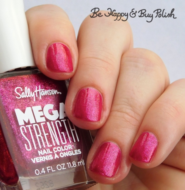 Sally Hansen Mega Strength Sorry Not Sorry | Be Happy And Buy Polish