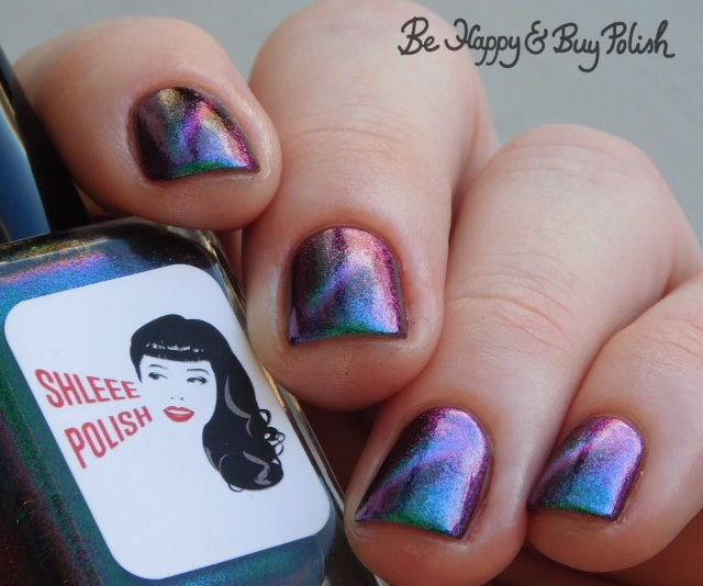 Shleee Polish Apophis magnetic polish color shift | Be Happy And Buy Polish