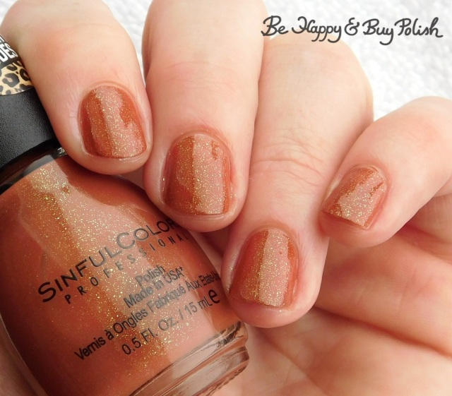 Sinful Colors Naughty Nudes Copper a Feel | Be Happy And Buy Polish