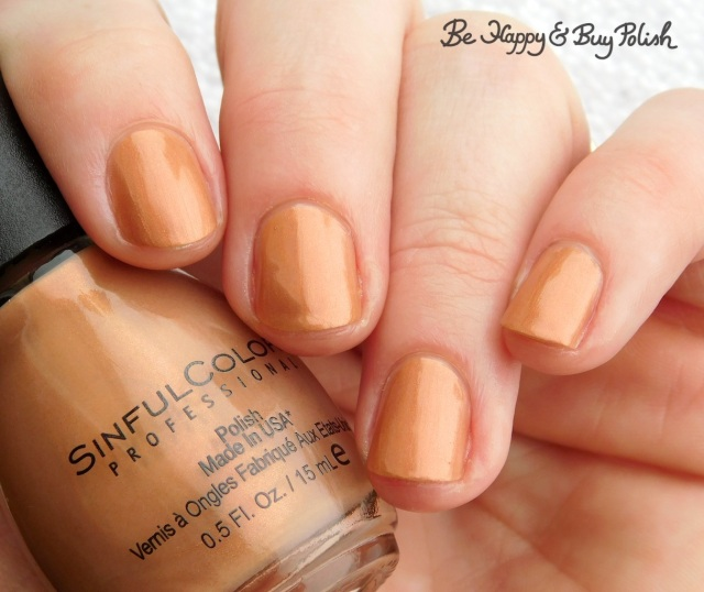 Sinful Colors Naughty Nudes Nakey Nay | Be Happy And Buy Polish
