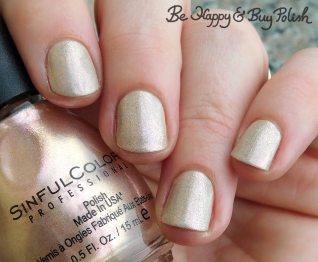 Sinful Colors Naughty Nudes Tease over Strike A Pose | Be Happy And Buy Polish