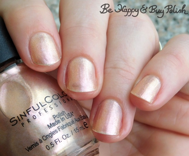 Sinful Colors Naughty Nudes Tease | Be Happy And Buy Polish